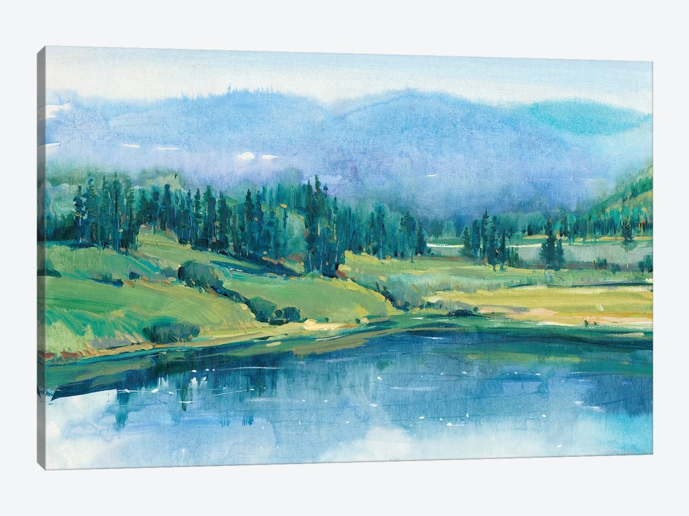 Mountain Lake II by Tim OToole 1-piece Canvas Art Print