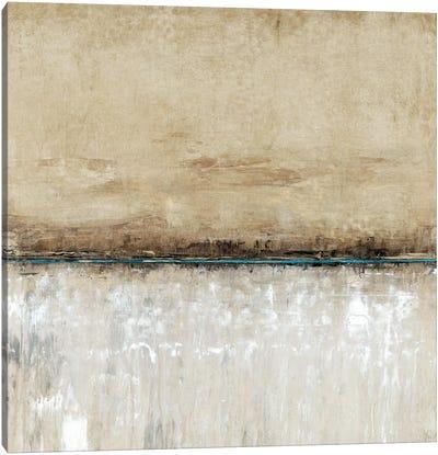 Blue Line I Canvas Art Print