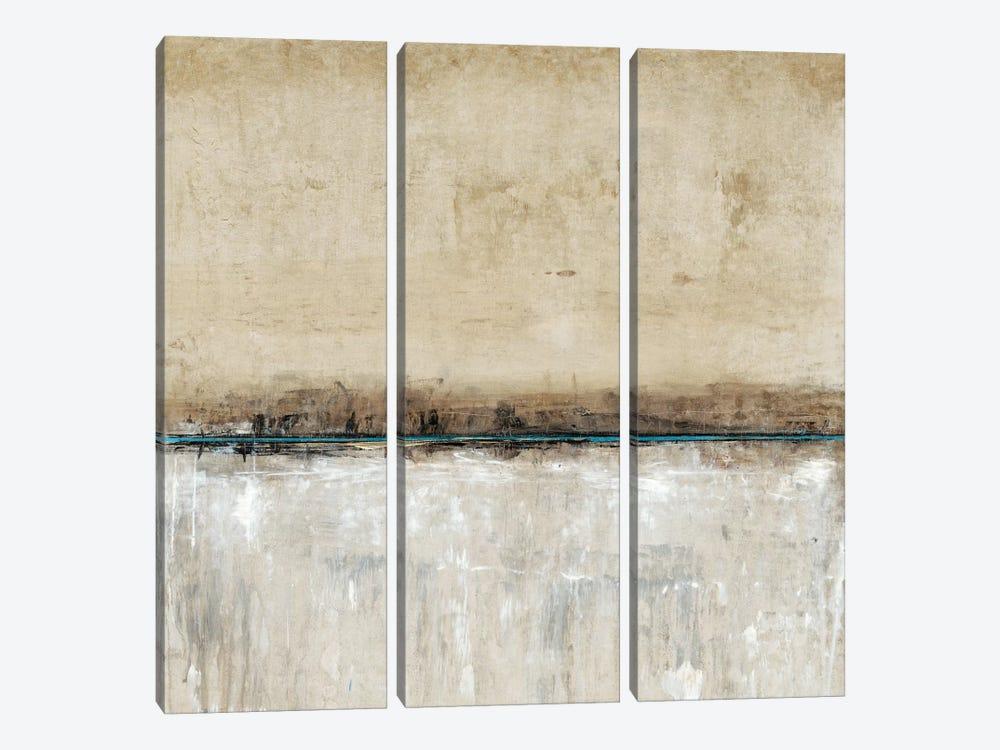 Blue Line II by Tim OToole 3-piece Canvas Art Print