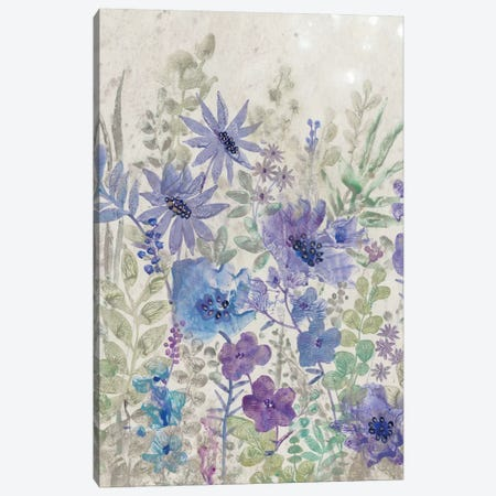 A Splash Of Flowers I Canvas Print #TOT232} by Tim OToole Canvas Artwork