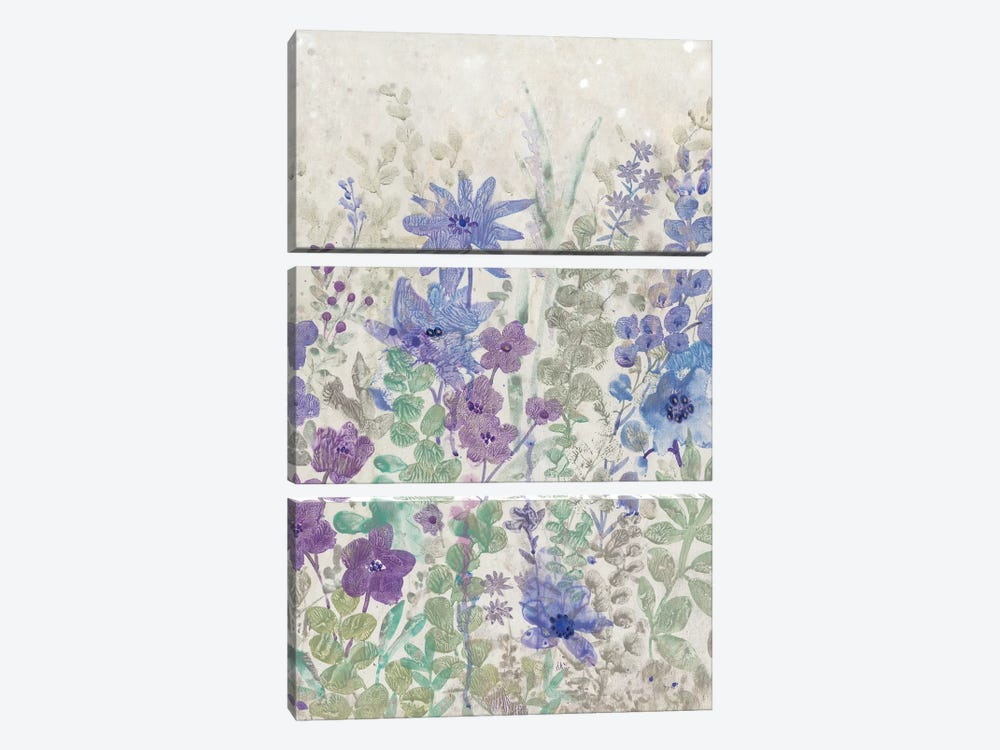 A Splash Of Flowers II 3-piece Canvas Artwork