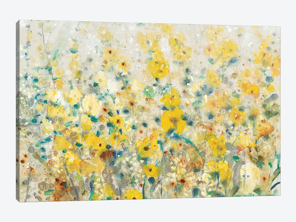 Cheerful Garden II by Tim O'Toole 1-piece Canvas Artwork