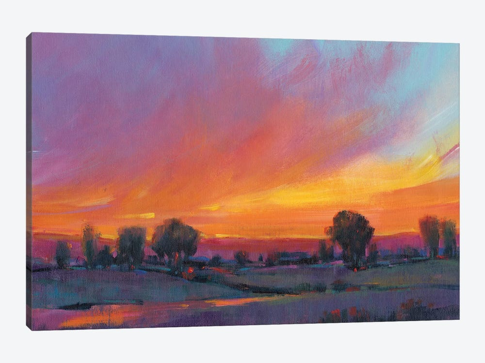 Fiery Sunset II by Tim O'Toole 1-piece Canvas Print