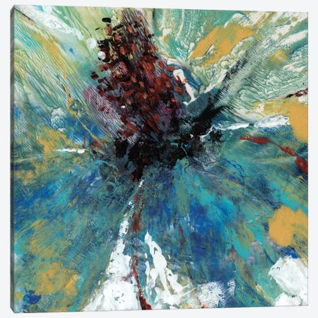 Blue Splash I Canvas Print #TOT25} by Tim OToole Canvas Wall Art