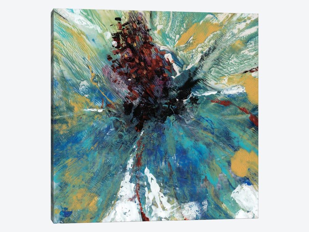 Blue Splash I by Tim OToole 1-piece Canvas Wall Art