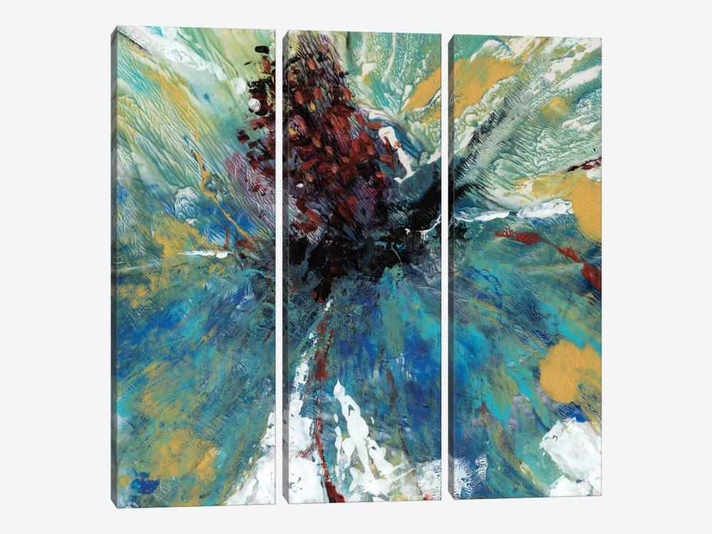 Blue Splash I by Tim OToole 3-piece Canvas Art