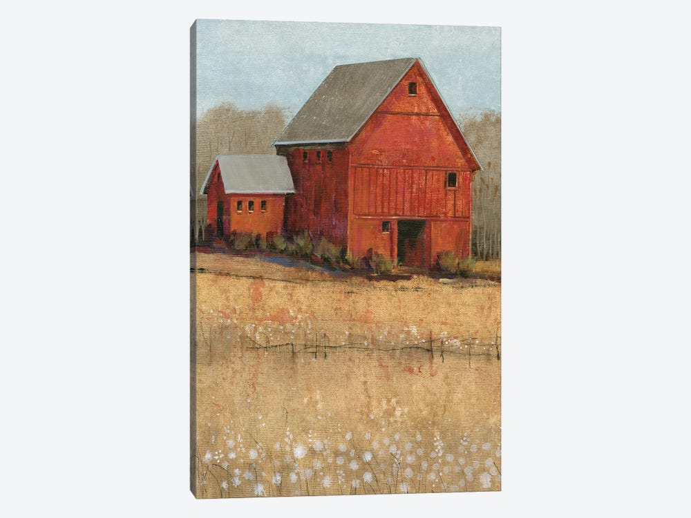 Red Barn View II by Tim O'Toole 1-piece Art Print