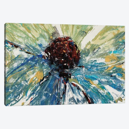 Blue Splash II Canvas Print #TOT26} by Tim OToole Canvas Wall Art