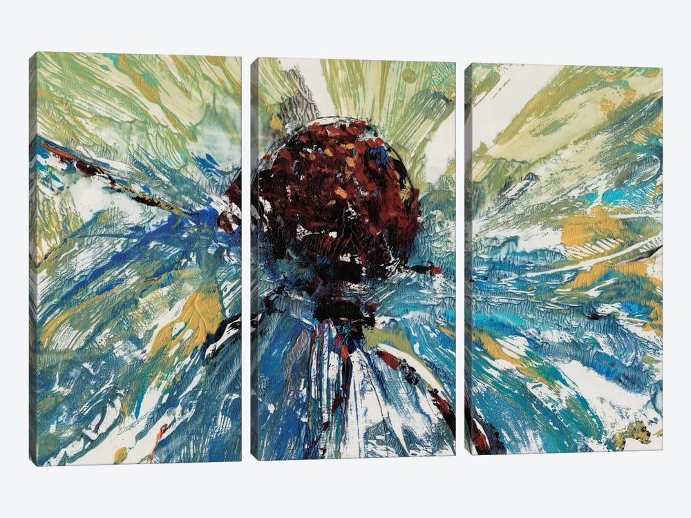 Blue Splash II by Tim OToole 3-piece Canvas Print