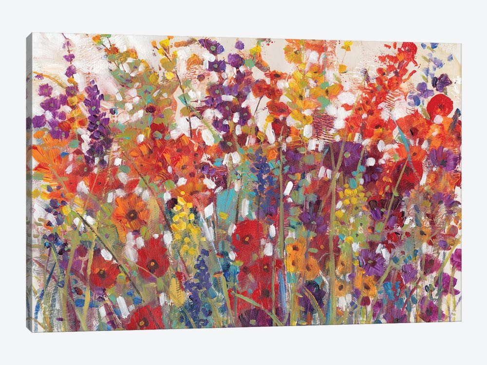Variety Of Flowers II by Tim O'Toole 1-piece Canvas Art