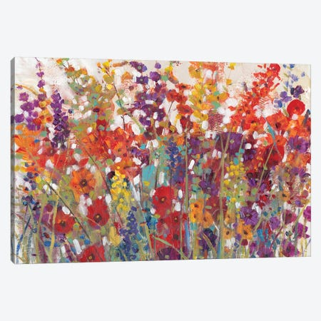Variety Of Flowers II 3-Piece Canvas #TOT271} by Tim OToole Canvas Art