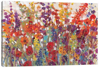 Variety Of Flowers II Canvas Art Print