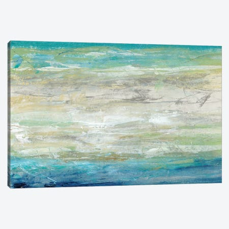 Wave Length I 3-Piece Canvas #TOT272} by Tim OToole Canvas Art