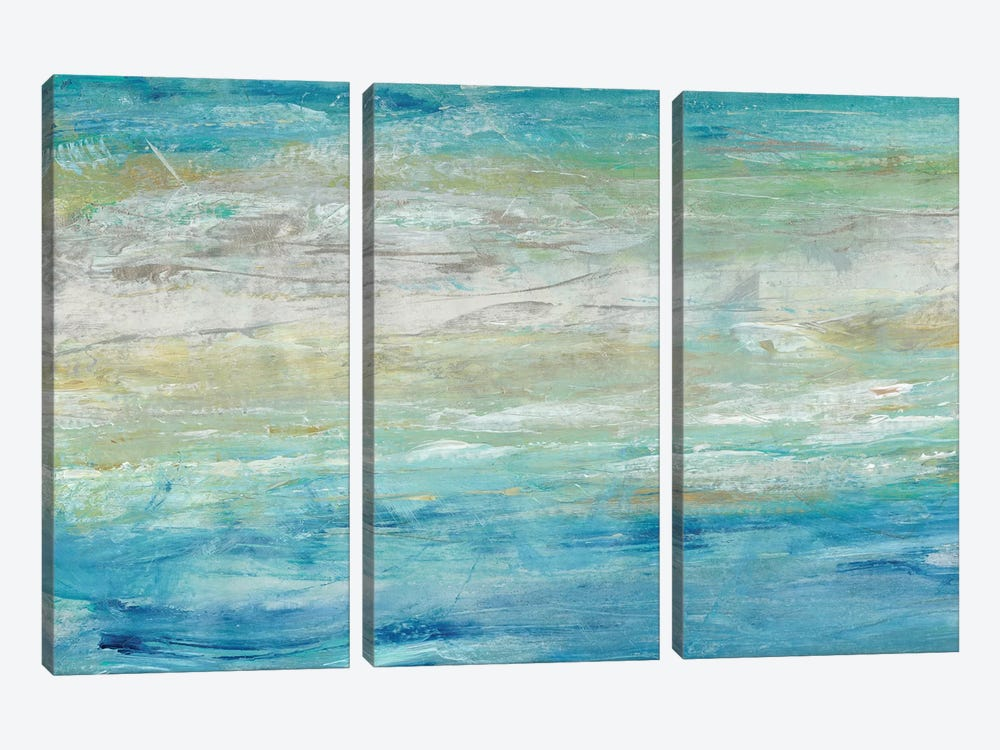Wave Length II by Tim OToole 3-piece Canvas Art