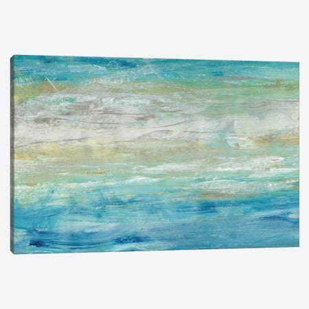 Wave Length II 3-Piece Canvas #TOT273} by Tim OToole Canvas Art