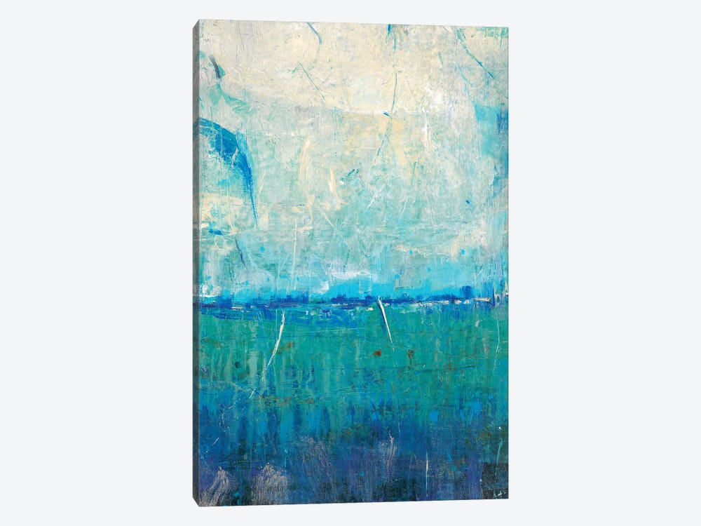Blue Movement I by Tim OToole 1-piece Canvas Wall Art