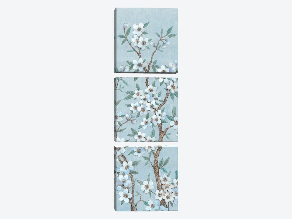 Branches Of Blossoms I by Tim O'Toole 3-piece Canvas Art