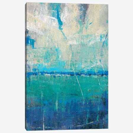 Blue Movement II Canvas Print #TOT280} by Tim OToole Art Print