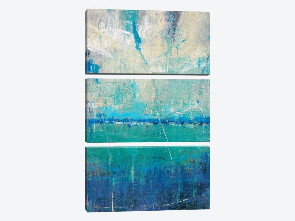 Blue Movement II by Tim O'Toole 3-piece Canvas Art