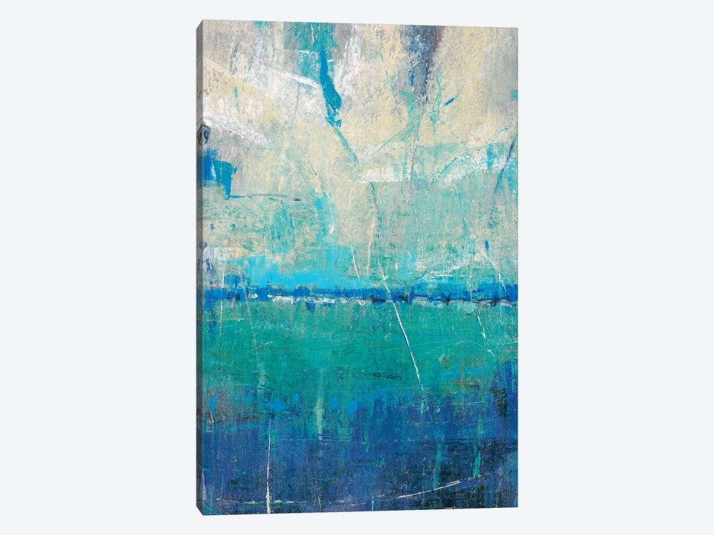Blue Movement II by Tim OToole 1-piece Canvas Artwork