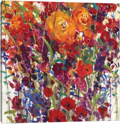 Mixed Bouquet III Canvas Art Print