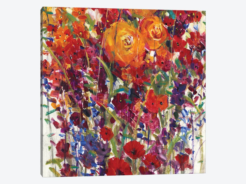 Mixed Bouquet III 1-piece Canvas Wall Art