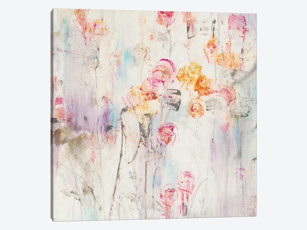 Spotted Garden I by Tim OToole 1-piece Canvas Artwork