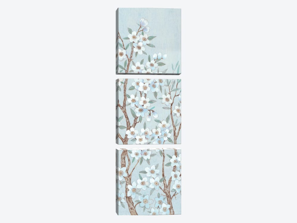 Branches Of Blossoms II by Tim OToole 3-piece Canvas Print