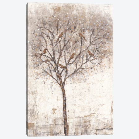 Tree Of Birds II Canvas Print #TOT297} by Tim OToole Art Print
