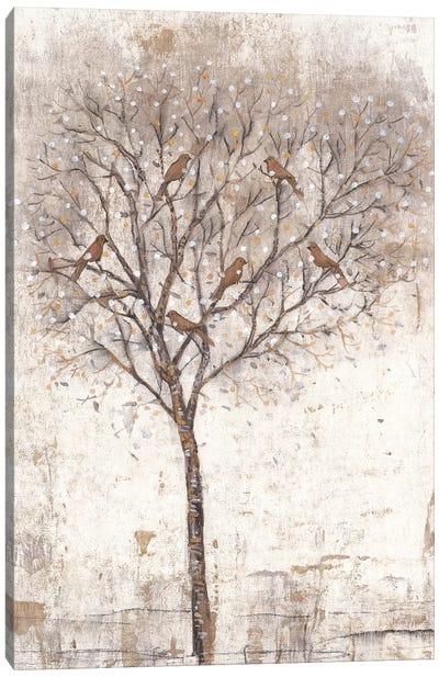 Tree Of Birds II Canvas Art Print