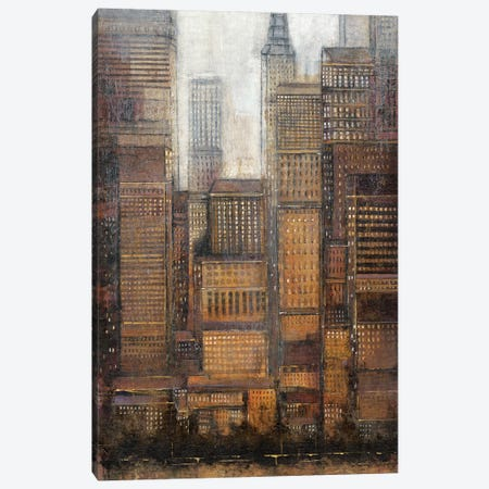 Uptown City I Canvas Print #TOT298} by Tim OToole Canvas Art