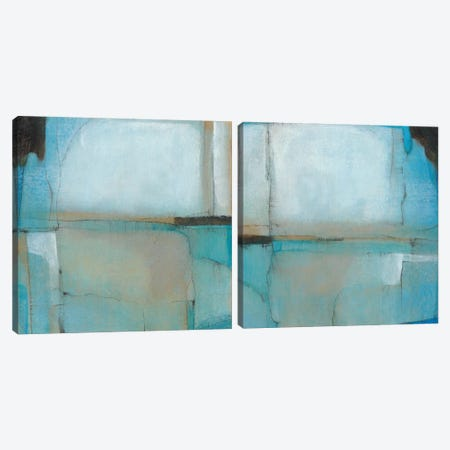 Celestial Diptych Canvas Print Set #TOT2HSET001} by Tim O'Toole Canvas Art