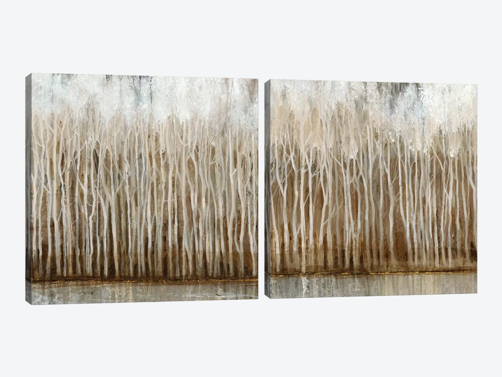 Whispering Trees Diptych by Tim O'Toole 2-piece Canvas Wall Art