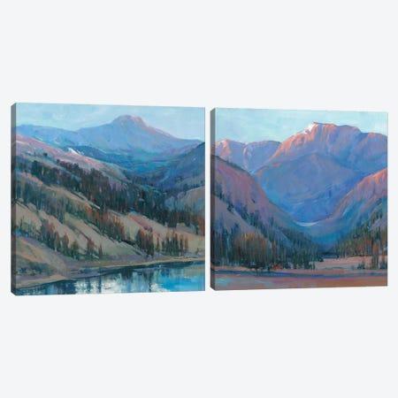 Mountain Vista Diptych Canvas Print Set #TOT2HSET014} by Tim OToole Canvas Art