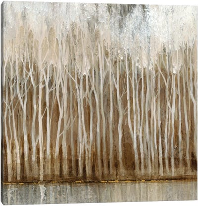 Whispering Trees II Canvas Art Print