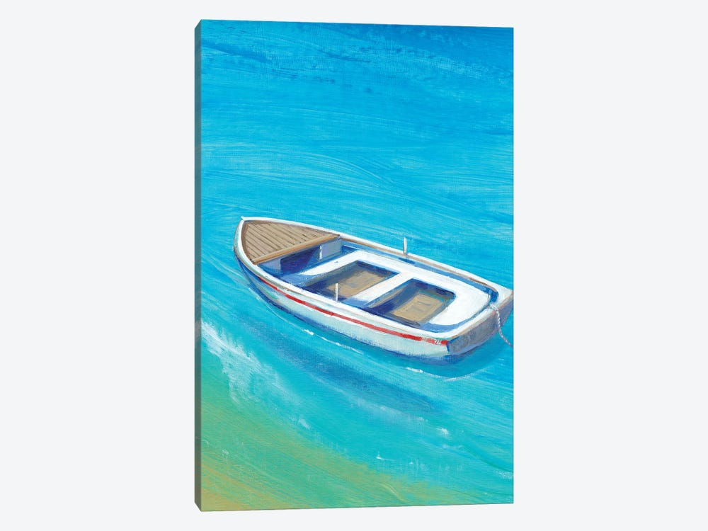 Anchored Dinghy I by Tim OToole 1-piece Canvas Print