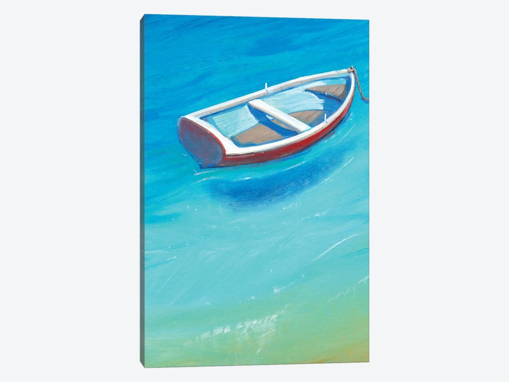 Anchored Dinghy II by Tim OToole 1-piece Canvas Artwork