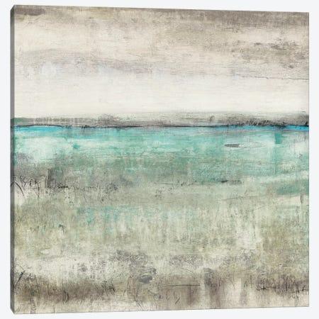 Aqua Horizon II 3-Piece Canvas #TOT311} by Tim OToole Canvas Print