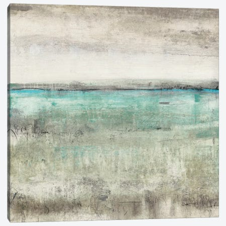 Aqua Horizon II Canvas Print #TOT311} by Tim OToole Canvas Print