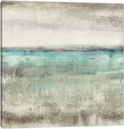 Aqua Horizon II Canvas Art Print