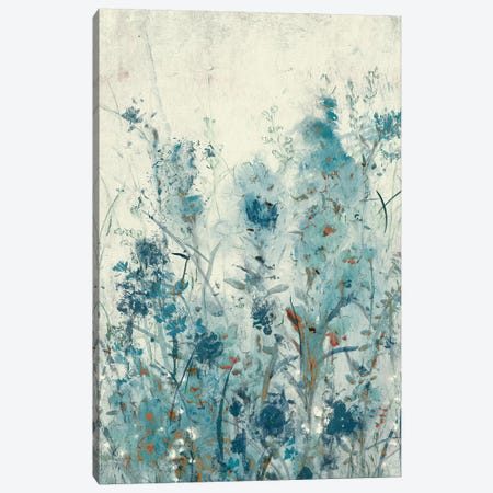 Blue Spring II 3-Piece Canvas #TOT313} by Tim OToole Canvas Print