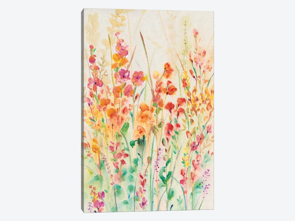 Brilliant Floral II 1-piece Canvas Art Print