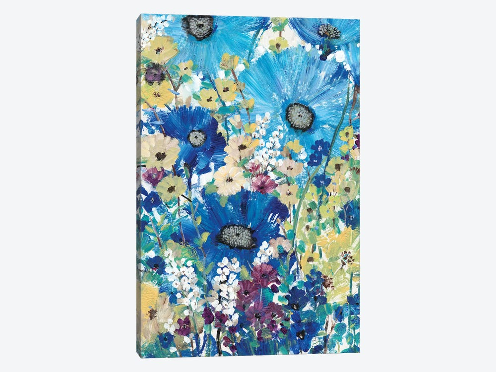 Garden Blues I by Tim OToole 1-piece Canvas Print
