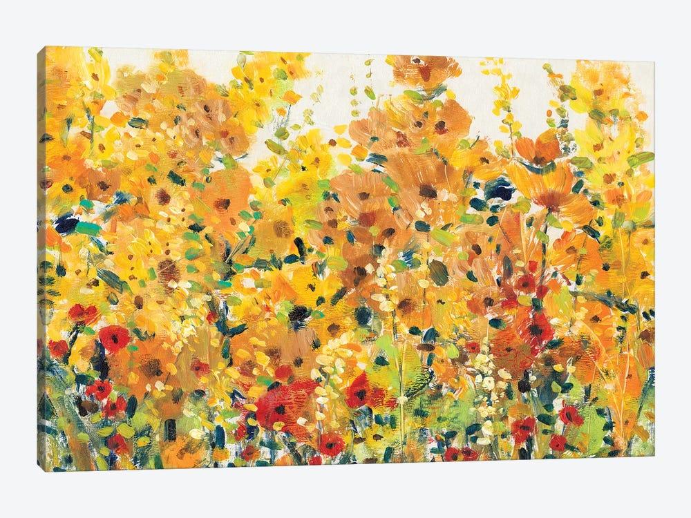 Golden Summer Garden I by Tim OToole 1-piece Art Print