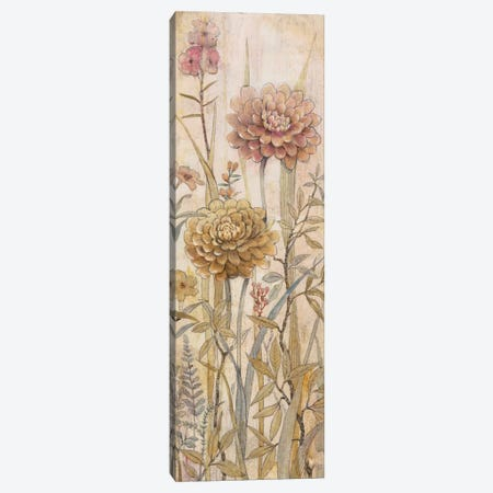 Floral Chinoiserie I Canvas Print #TOT33} by Tim OToole Canvas Artwork