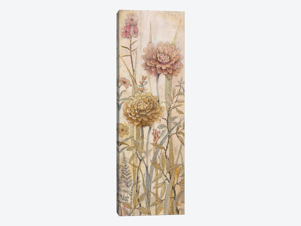 Floral Chinoiserie I by Tim OToole 1-piece Art Print