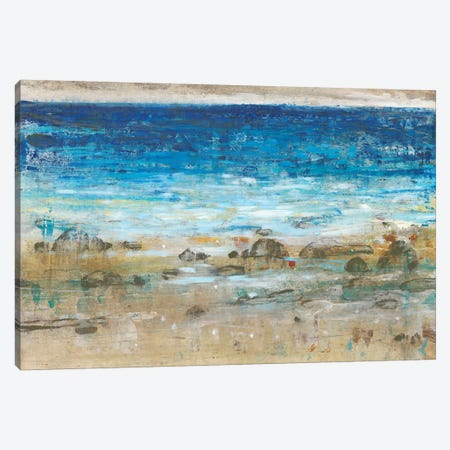 Rocky Shoreline I 3-Piece Canvas #TOT346} by Tim OToole Canvas Art Print