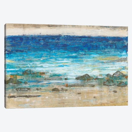 Rocky Shoreline II 3-Piece Canvas #TOT347} by Tim OToole Art Print