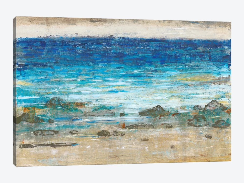 Rocky Shoreline II by Tim OToole 1-piece Canvas Artwork