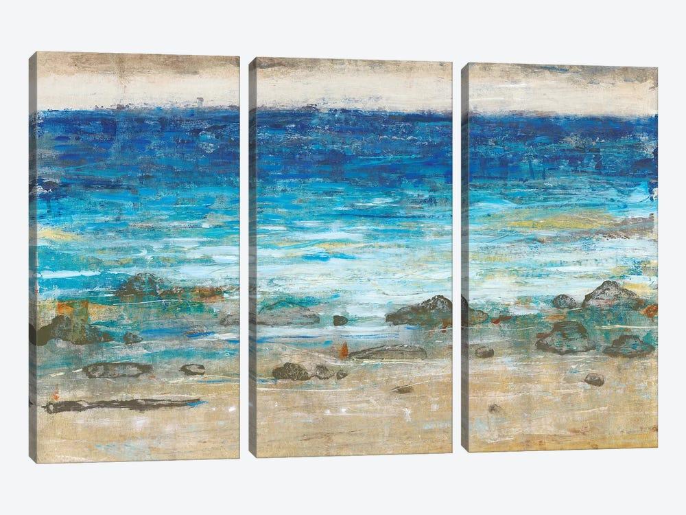 Rocky Shoreline II by Tim OToole 3-piece Canvas Wall Art